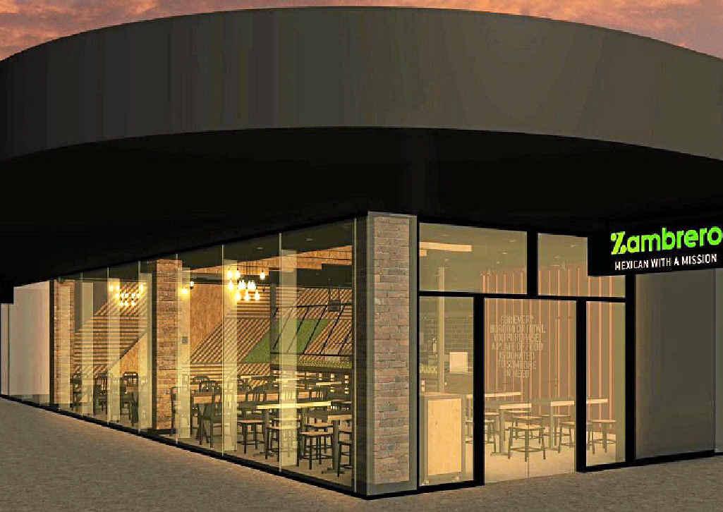 OPEN SOON: Artist impressions of the new Zambrero store.