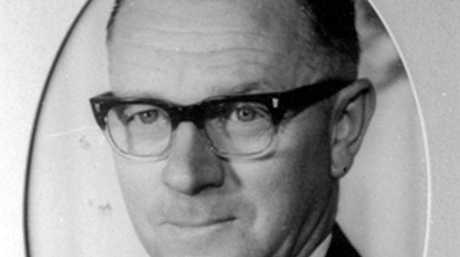 Selwyn Carbery as a Landsborough Shire councillor circa 1967.