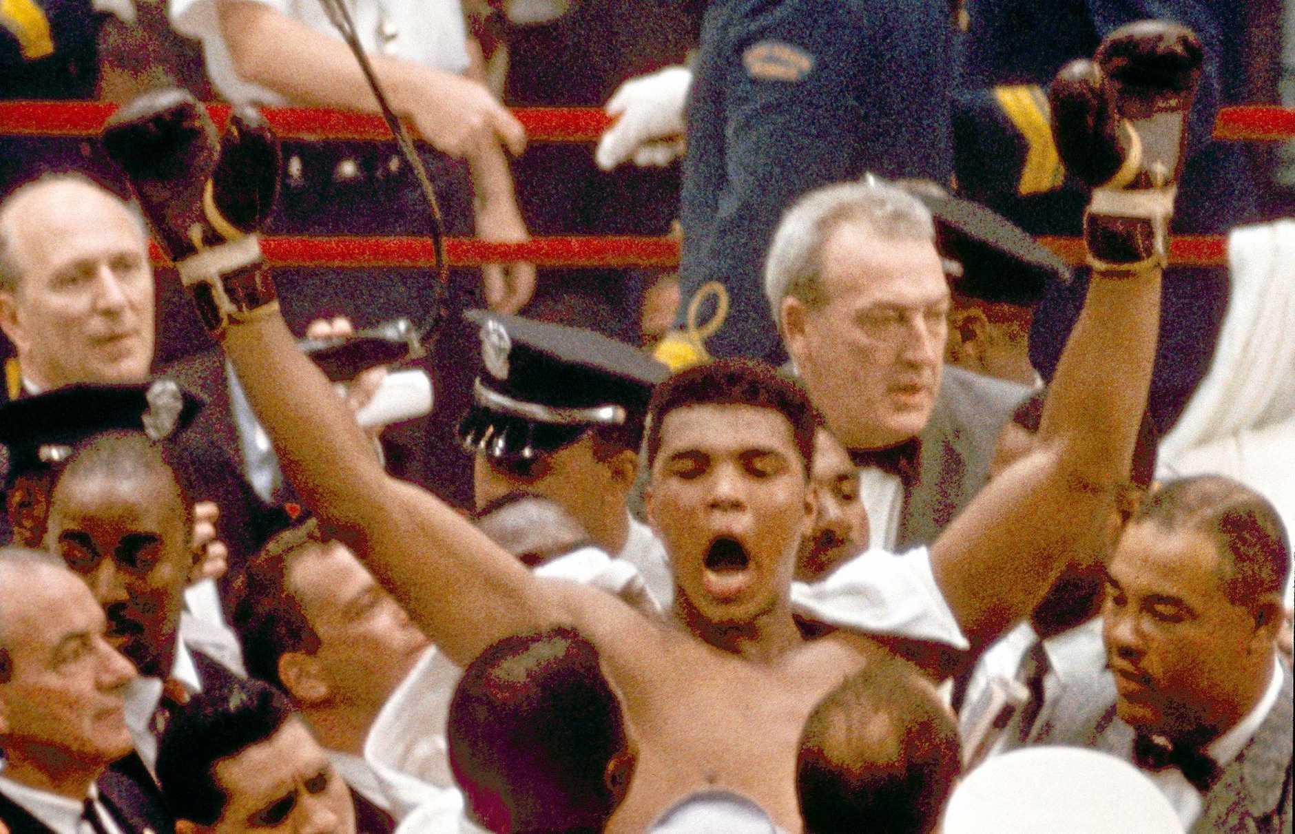 LEGENDARY: Muhammad Ali.