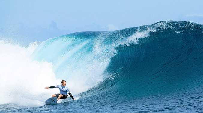 TOO GOOD: Matt Banting beat Julian Wilson in round one at the Fiji Pro.