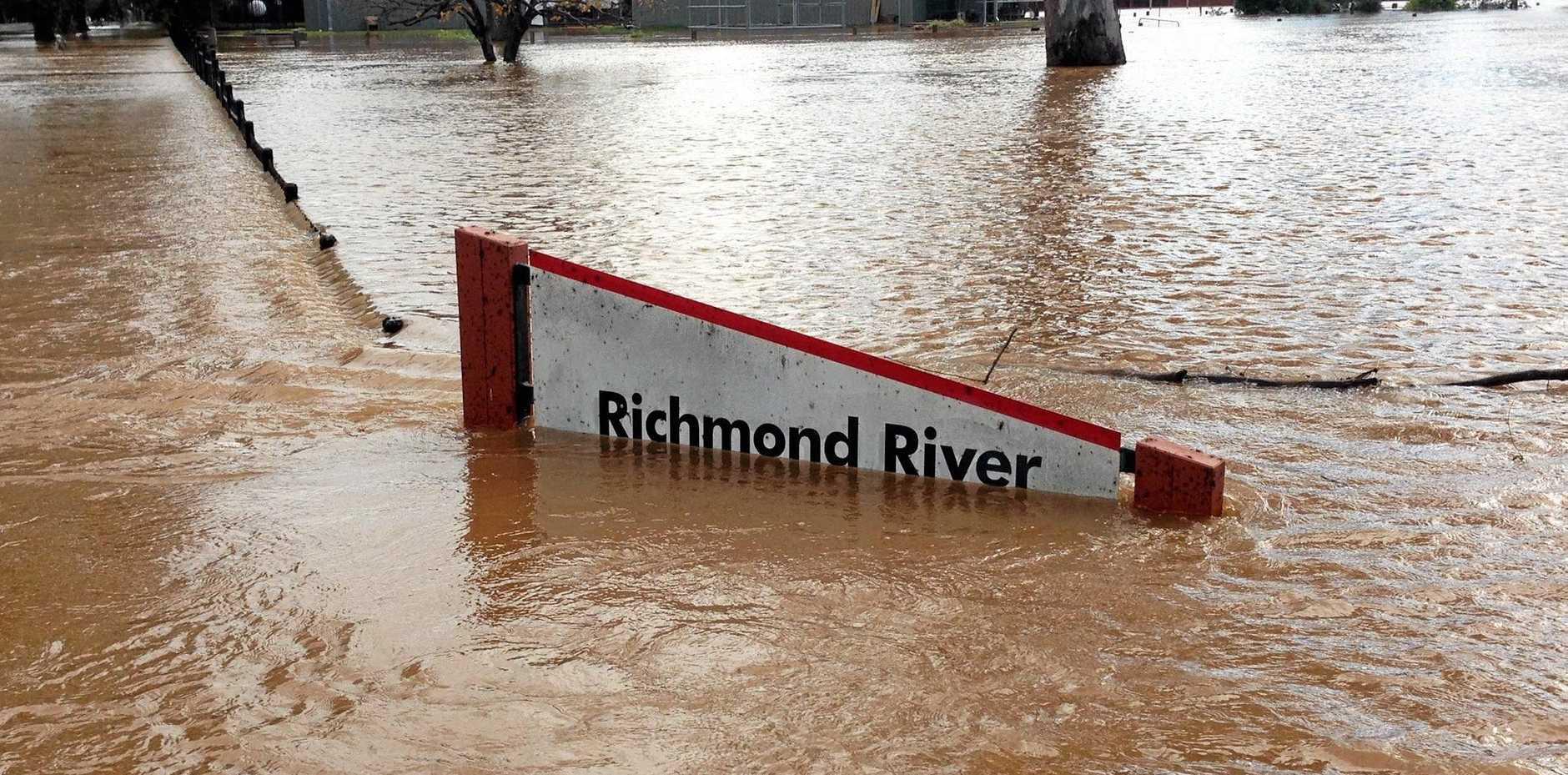 Richmond River High School underwater