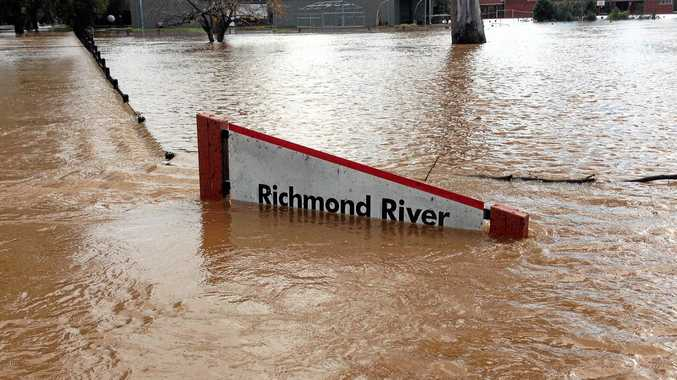 Richmond River High School underwater