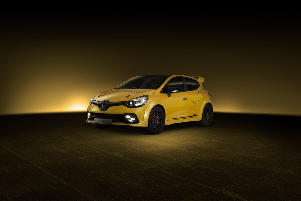 Renault Sport's concept Clio R.S. 16. Photo: Contributed