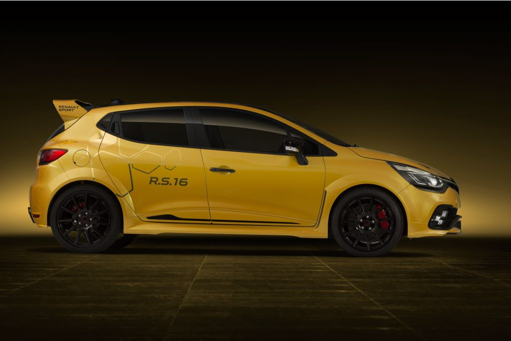 CONCEPT TEASE: The hot Clio just got hotter. But will Renault Sport dare produce this junior Megane RS275 Trophy R?