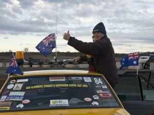 Road Boss Rally begins
