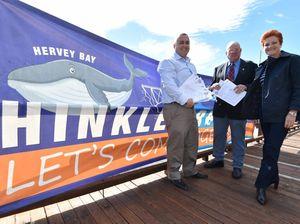 WATCH: Pauline Hanson visits Toogoom for bridge naming