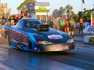 Ipswich launchpad for drag racing spectacle