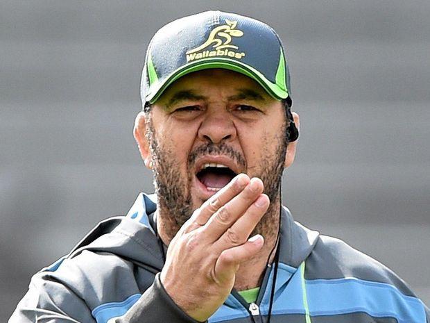 Wallabies coach Michael Cheika.