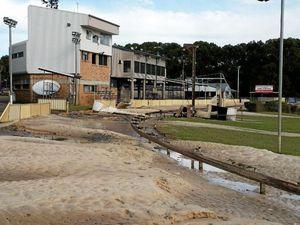 Flood damage closes Lismore greyhound track