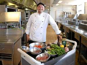 Chef relishes local food