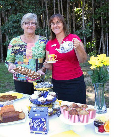 The Natures Edge Buderim Australia's Biggest Morning Tea event.