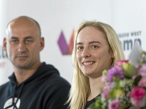 Hero welcome home for Alyssa Azar