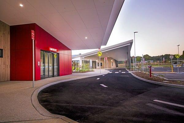 The $88 million Byron Central Hospital at Ewingsdale has been completed.Photo Contributed