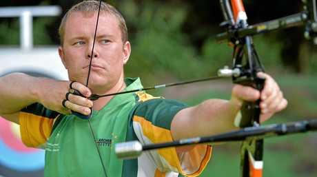 Rio Olympic hopeful  Ryan Tyack is hoping to make the Archery team. Photo: Warren Lynam / Sunshine Coast Daily
