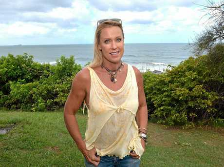 Swimmer Lisa Curry made the Sunshine Coast home.