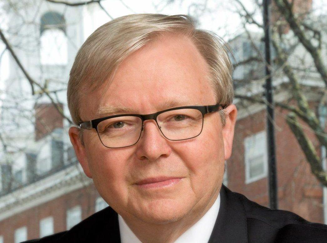 Former PM Kevin Rudd