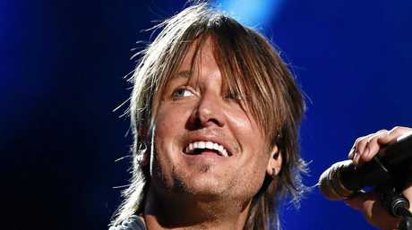 Keith Urban performs at LP Field at the CMA Music Festival in Nashville in 2015.