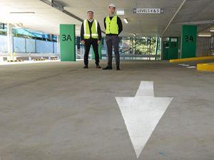 Lismore Base Hospital car park opens for use
