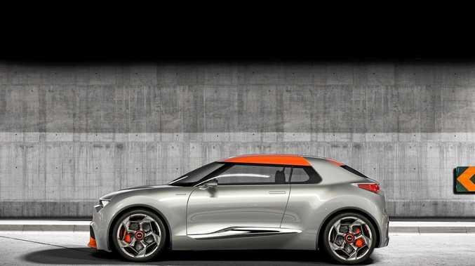 The Kia Provo concept car revealed back in 2013.