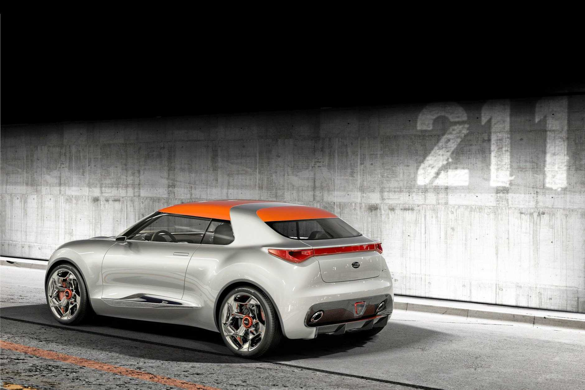 The Kia Provo concept car.