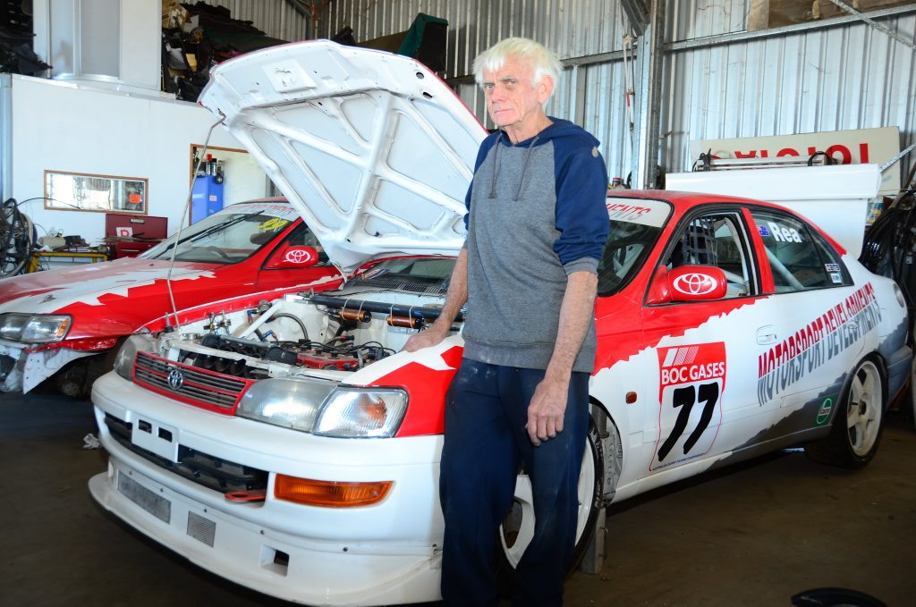 TESTING TIME: Wondai touring car driver Malcolm Rea will compete in his first sprint event at this weekend's Wondai Street Sprints.
