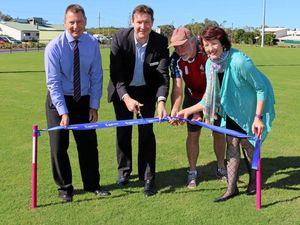 Coast gets news $2.4m sports field