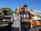 Bishop's visit: Selfies, drag racing and the digital future