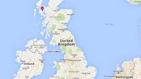 The Isle of Skye lies just off the Scottish coast.