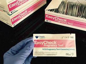 Women warned: pregnancy test kit returning false negatives