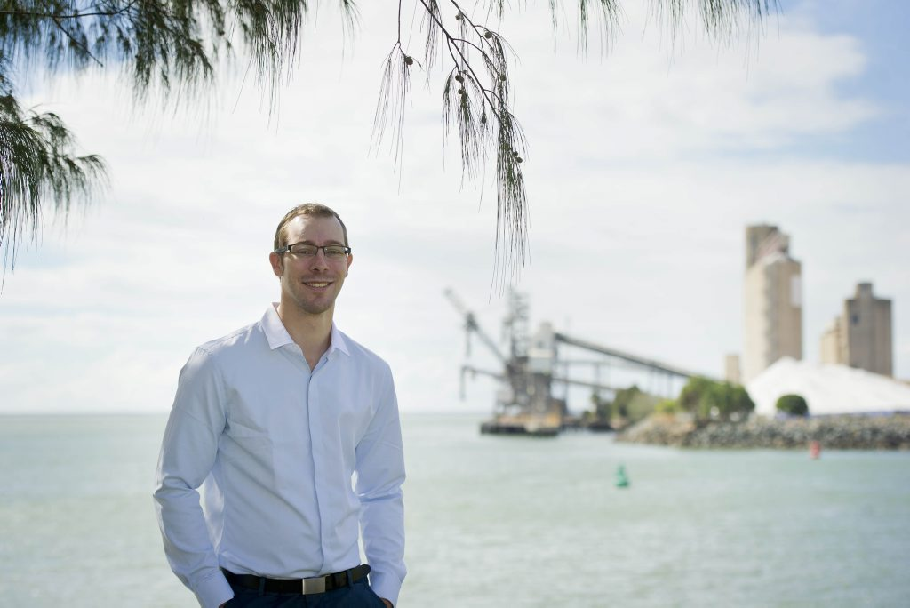 Nathan Fletcher is running as an independent for the seat of Flynn. Photo Dylan Suska / The Observer