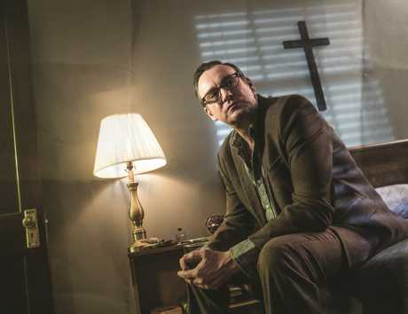 Philip Glenister stars as Reverend Anderson in the TV series Outcast.