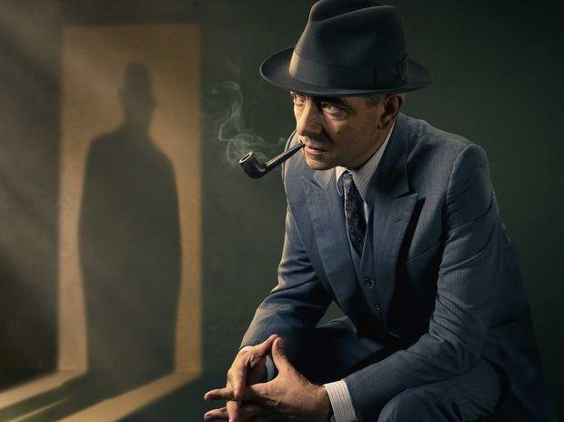Rowan Atkinson stars in the Maigret TV movies.