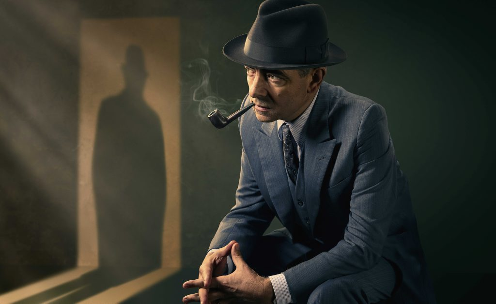 Rowan Atkinson stars in the Maigret TV movies.