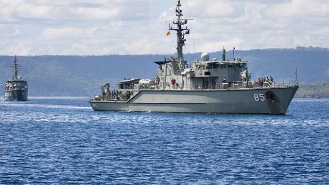 HMAS Gascoyne.