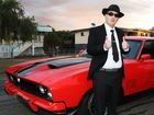 Zackary Robert heading off to the Multicap Gala Ball in Rockhampton. Photo Sharyn O'Neill / Morning Bulletin