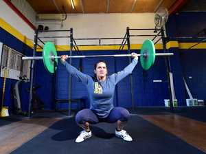 Crossfit champion Francine Pehi in action