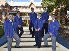 Toowoomba Grammar School students share their opinions about their political aspirations and wishes. From left; Guido Zuccoli-Handley, 17 (Year 12), Bradley Evans, 15 (Year 11), Sean Sorour, 16 (Year 11), Front; Guido Zuccoli-Handley, 17 (Year 12), Patrick Fogarty, 17 (Year12), Thomas Sedl, 17 (Year 12). June 9, 2016