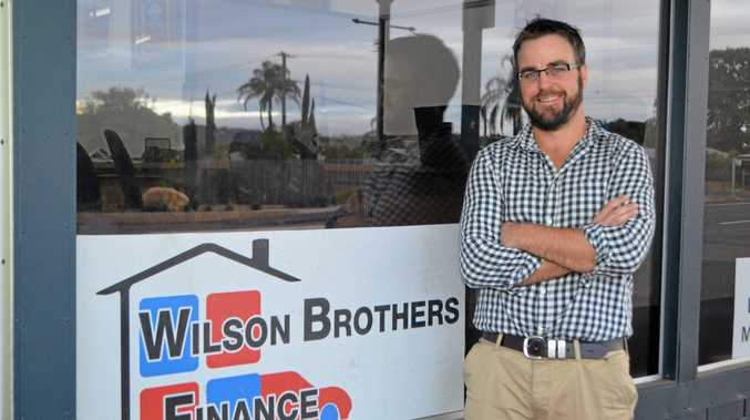 Councillor Chris Wilson says being self-employed at his business, Wilson Brother's Finance, gives him more flexibility as a councillor.