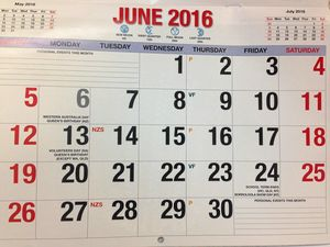 You need to know this one thing about Monday, June 13