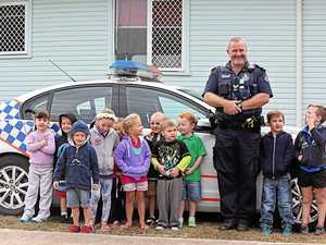Police a hit at kindergarten