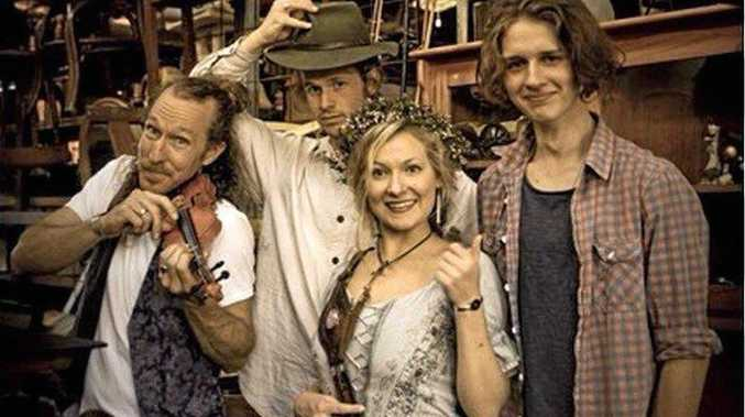 ON STAGE:  The Heart Collectors will perform a Secret Garden Show in Tyalgum this Sunday.