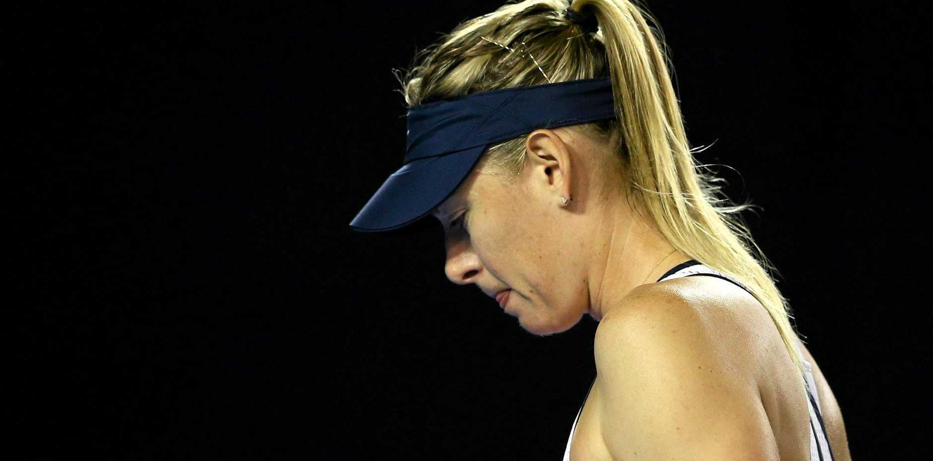PREPARED TO FIGHT: Maria Sharapova said the two-year doping ban was harsh.