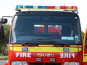 Caravan park evacuated after fire at Burrum