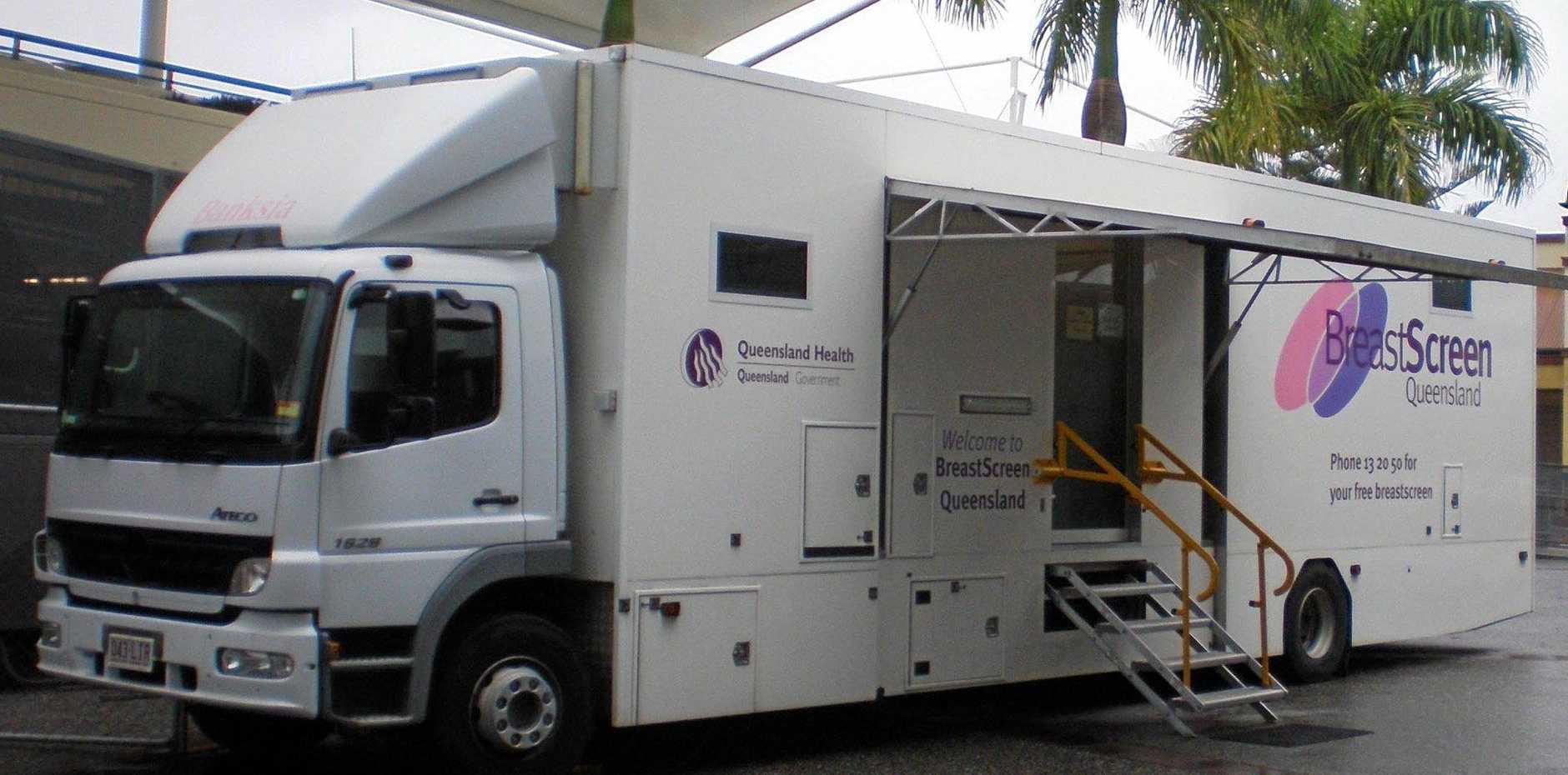 Take advantage of mobile BreastScreen service in Kingaroy, Nanango.