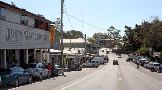 SPACED OUT: Car parking on Memorial Drive, Eumundi. File photo.