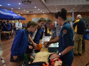 Students explore their options at Careers Expo
