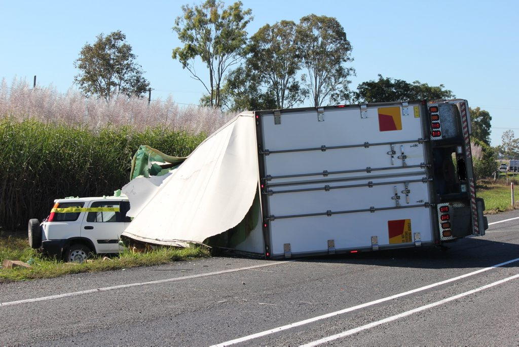 Both Drivers were lucky to escape this accident without major injuries.