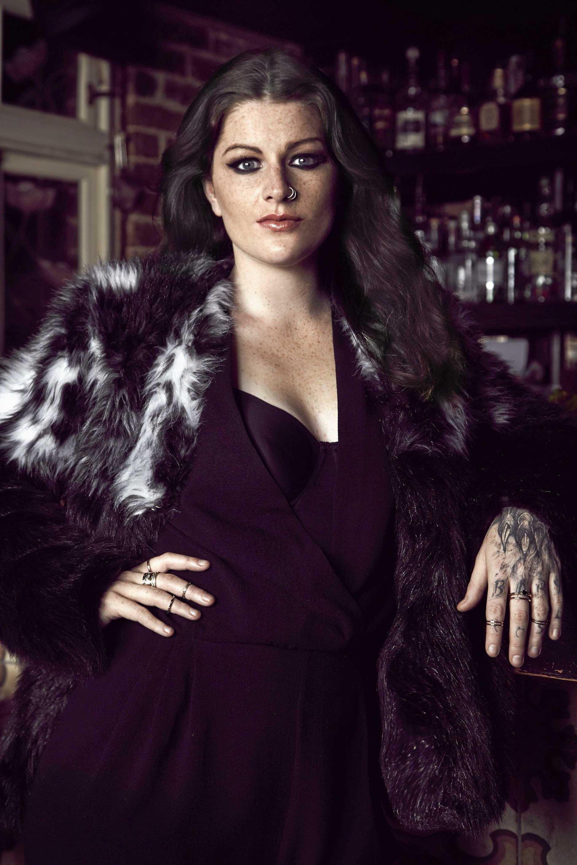Australian singer Karise Eden.