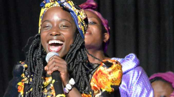 SOUL SINGERS: African youth choir Ubuntu will perform at Twin Towns on Thursday at 11am and on Saturday from 8.30pm.