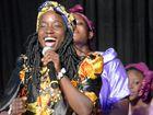 TOP VOICE: Vania, a member of African group Ubuntu.